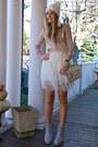 Tan-tutu-everbuying-dress-white-knitted-everbuying-hat