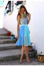 Sky-blue-chicwish-dress-beige-jessica-buurman-heels