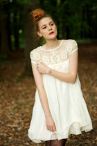 crochet pearl Chicwish dress