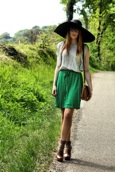 Zara dress - Pimkie shoes - Zara hat - Pimkie belt