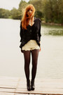 Chicwish-shorts-romwe-heels-chicwish-skirt