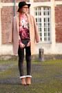 Choies-coat-jennyfer-jeans-choies-hat-romwe-sweater
