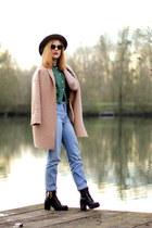 Modress boots - green choiescom shirt - zeroUV sunglasses