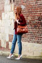 PERSUNMALL bag - Choies coat - H&M jeans - PERSUNMALL heels