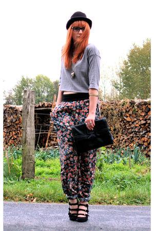 Pimkie shoes - Pimkie top - Zara pants