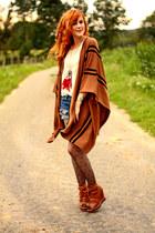 H&M cardigan - Levis shorts - Promod necklace