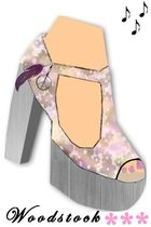 purple Jeffrey Campbell shoes