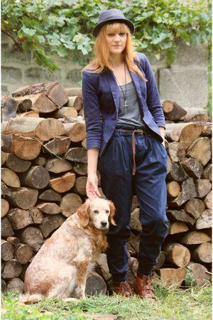 new look boots - Zara pants