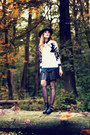 Choiescom-boots-choiescom-hat-eagle-awwdore-sweater-romwe-skirt