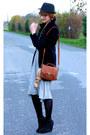 Comptoir-des-cotonniers-dress-zara-jacket-h-m-shoes