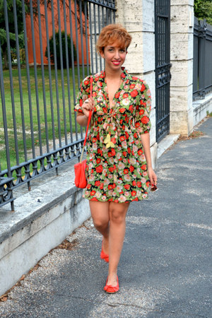 angeleye dress - H&M bag - Mango flats