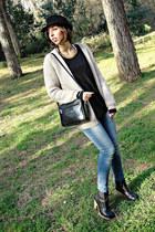 Zara jeans - H&M cardigan