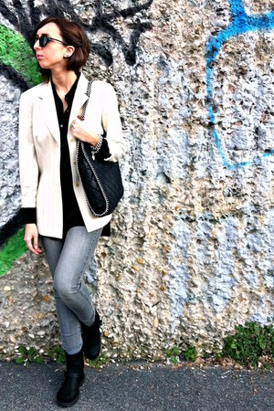 Mango jeans - H&M shirt - Stella McCartney bag