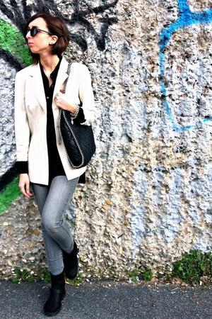 Mango jeans - H&M shirt - Stella McCartney bag