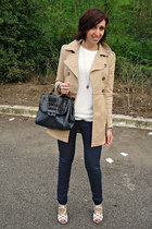 H&M jacket - Zara cardigan - Stradivarius pants