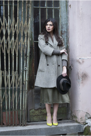 H&M dress - leather mussete heels