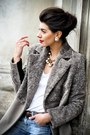 Wool-laura-ciobanu-coat-leather-heels-cotton-zara-t-shirt