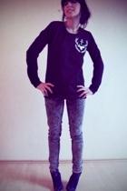 Berangere Claire sweater - Cheap Monday jeans - H&M shoes