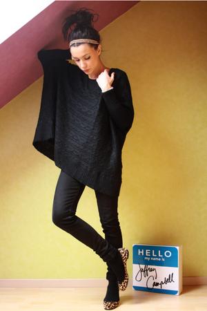 Parcours Paris shoes - Cheap Monday jeans - Mango sweater