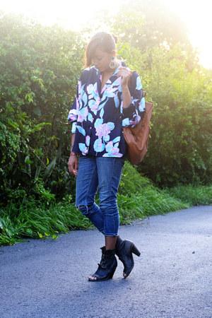 booties allsaints boots - jeans allsaints jeans