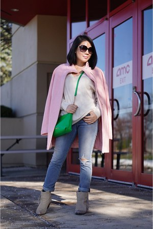 light pink Express coat