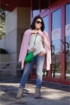 light pink Express coat