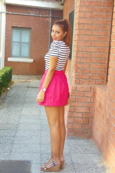 Stradivarius skirt - exe shoes - Zara shirt