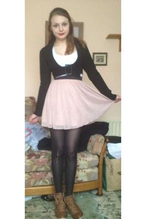 light pink Miss Selfridge skirt