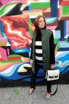 Zara sweater - Zara coat - Zara jeans - Mango bag - Vero Moda blouse