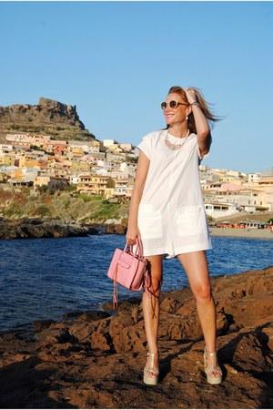 Zara romper - Rebecca Minkoff bag - Mustang heels