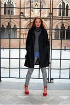 Zara accessories - G-Star coat - Sfera sweater - H&M blouse - Zara Kids pants