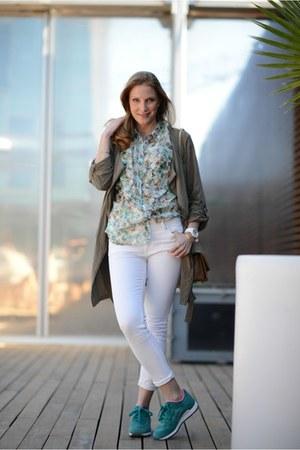 ice watch watch - Stradivarius jeans - Promod jacket - Tous bag - Promod blouse