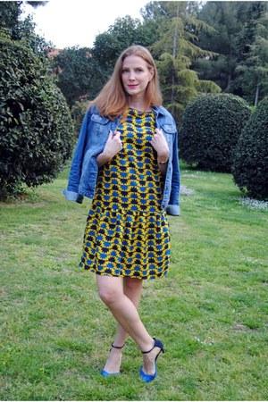 Titisclothing dress - Lefties jacket - Zara heels