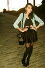H-m-jacket-jacket-forever-21-shoes-h-m-lace-dress-dress-h-m-bag-black-ti