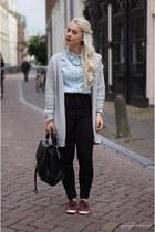 Keds shoes - Topshop blouse