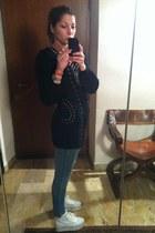 wool C Kenza sweater - Zara jeans - Jeffrey Campbell Play wedges