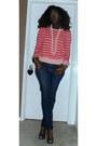 Forever-21-sweater-old-navy-jeans-steve-madden-heels-handmade-ring