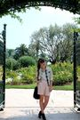 Pink-zara-shorts