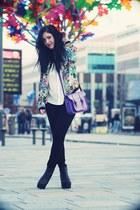 flowered Zara jacket