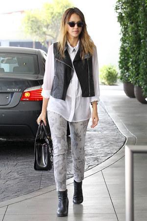 jacket - jeans - blouse