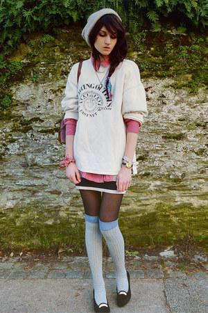 dark brown wig Ebay accessories - beige beanie asos hat
