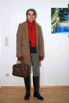 gray bagatt boots - charcoal gray cowboysbag bag