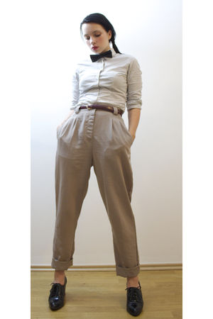 beige American Apparel pants