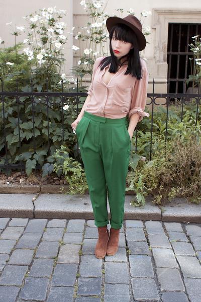 H&M pants - Topshop shirt