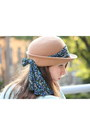Camel-anthropologie-hat-sky-blue-zara-jeans-ivory-free-people-top