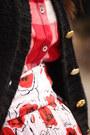 Black-wool-bowler-nordstrom-hat-red-checkered-jcrew-shirt