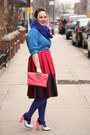 Navy-hue-tights-navy-wool-blend-j-crew-scarf-salmon-leather-jcrew-bag