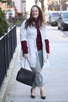 silver cotton H&M jacket - heather gray calvin klein jeans