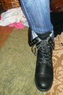 Combat-boots-blazer