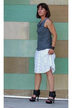 Donna Morgan dress - Express top - boots
